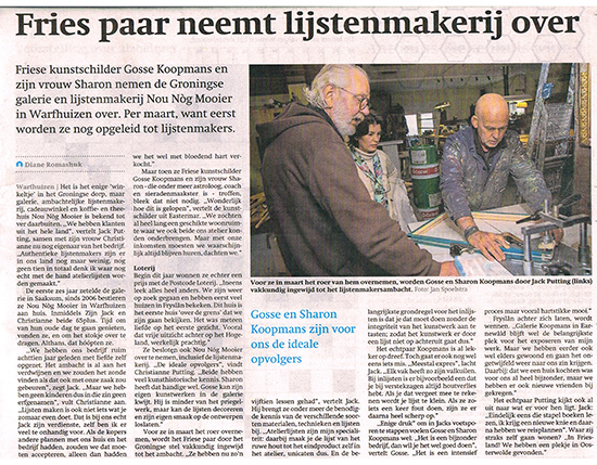friesch dagblad 12 nov 2018